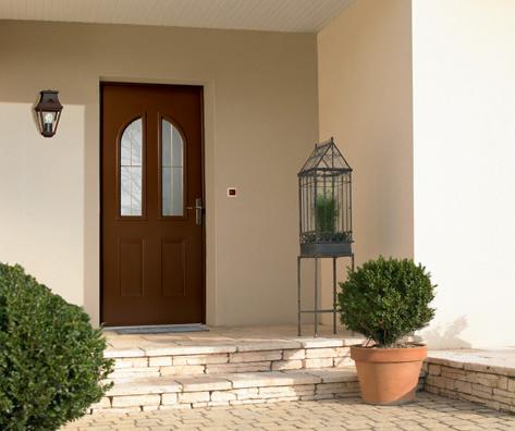 Top 10 des portes d entr e acier bel m blog de j aime for Modele maison vitree