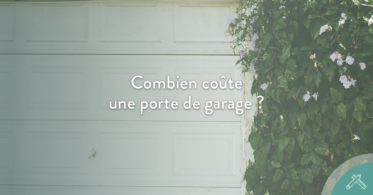 Combien co te une porte de garage blog j aime mon artisan for Porte de garage xxl