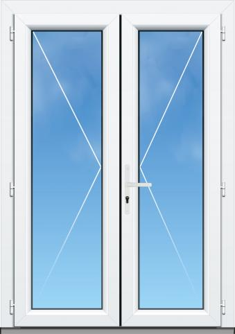 9_Porte Fenetre 2 vantaux option serrure - AMCC A70 ELEGANCE - Blanc RAL 9010.jpg