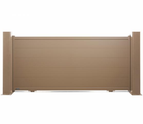 1_Portail coulissant - La Toulousaine - gamme Accord- modèle Jersey - Coloris GRIS 7006.jpg