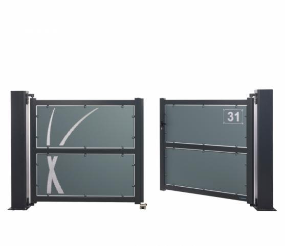 2_s_Portail battant - La Toulousaine - gamme Intuition - modèle Aloé - Coloris 7016 + 7031.jpg