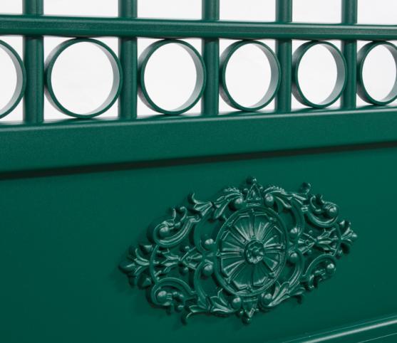 8_Tôle à Rosace - Portail La Toulousaine Gourdon - Coloris VERT 6005.jpg