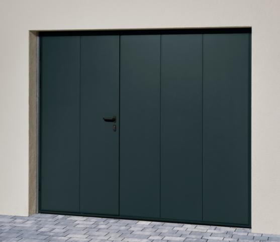 1_s_Porte de garage basculante NOVISO - Panneau sans nervure - Finition Lisse - Coloris gris anthracite RAL7016.jpg