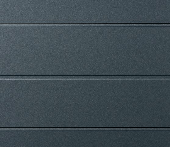 10_Détail panneau à design nervure large lisse ISO45 - Finition lisse - Coloris satin dark grey.jpg