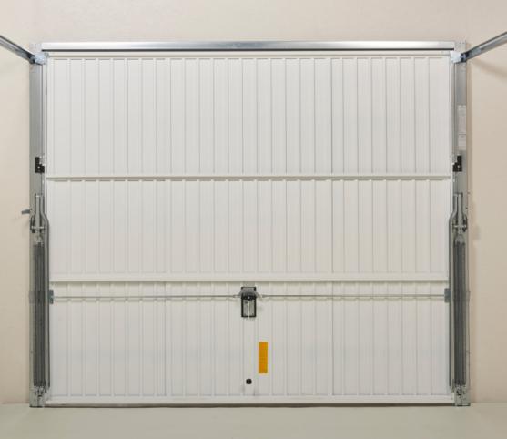 10_Vue intérieure - Coloris panneau identique au coloris extérieur - Porte de garage basculante DL Novoferm.jpg