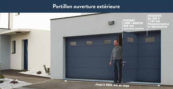 18_Portillon ouveture extérieure - Version Professionnelle - Porte de garage ISO 45 Novoferm.jpg