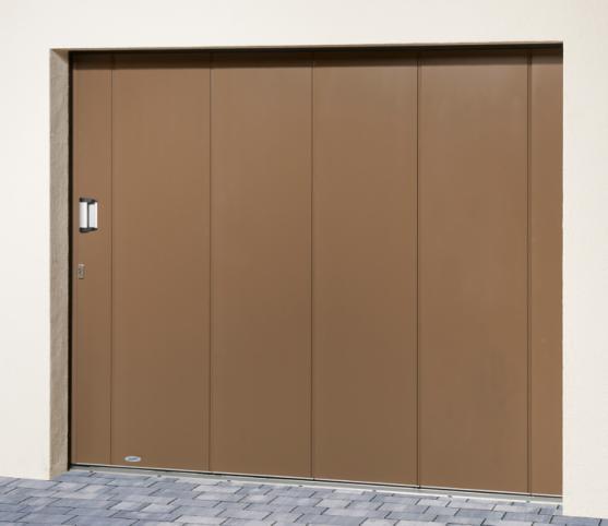 6_Porte de garage latérale NOVOSIDE Novoferm - Panneau sans nervure - Finition lisse - Coloris RAL 7006 Gris Beige.jpg