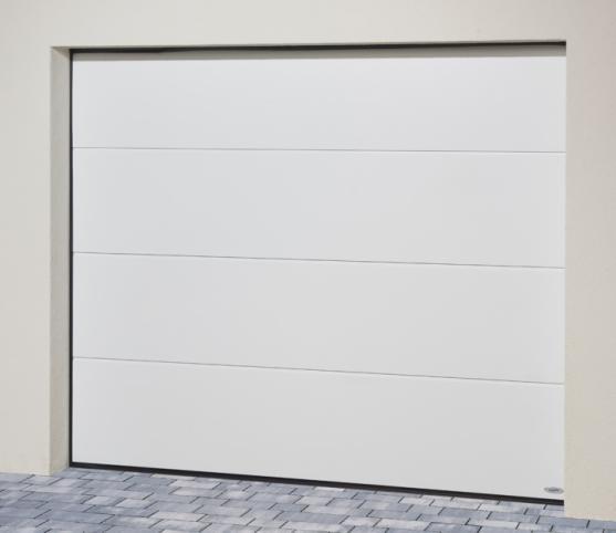 7_Porte de garage sectionnelle ISO 45 Novoferm - Panneau sans nervure - Coloris satin white.jpg