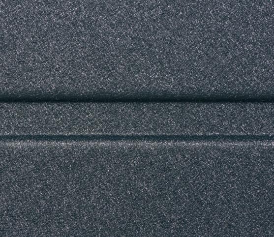 9_Détail panneau à design nervure large lisse ISO45 - Finition lisse - Coloris satin dark grey.jpg