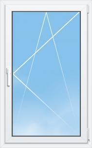 Fenêtre Mixte PVC/Aluminium ALYA Excellence - AMCC - 1 VANTAIL