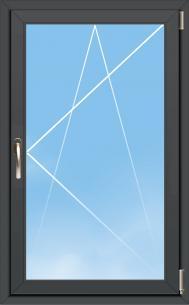Fenêtre Aluminium OC70 Excellence - AMCC - 1 VANTAIL