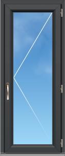 """Porte fenêtre PVC """"A70 élégance"""" - 1 VANTAIL"""