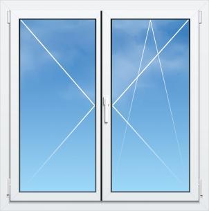 Fenêtre Mixte PVC/Aluminium ALYA Excellence - AMCC - 2 VANTAUX