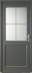 """Porte d'entrée Aluminium """"Langeais"""""""