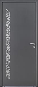Porte d'entrée Aluminium Topaze - Bel'M