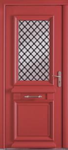 "Porte d'entrée Mixte alu / bois ""Athéna Mixte"""