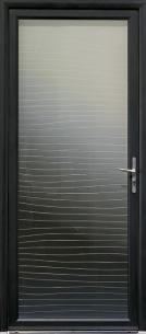 "Porte d'entrée Aluminium ""Mavoko"""