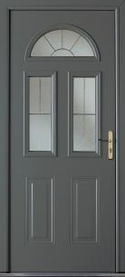 Porte d'entrée Mixte alu / bois Gaspésie - Bel'M