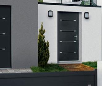 """Porte d'entrée Aluminium """"Zen"""""""