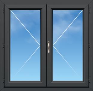 Fenêtre PVC A70 élégance - AMCC - 2 VANTAUX