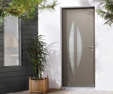 """Porte d'entrée Aluminium """"Sélène"""""""