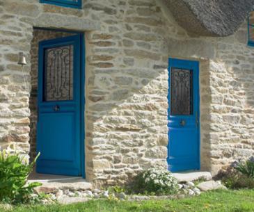 """Porte d'entrée Bois """"Majorque"""""""