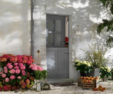 """Porte d'entrée Bois """"Touraine"""""""