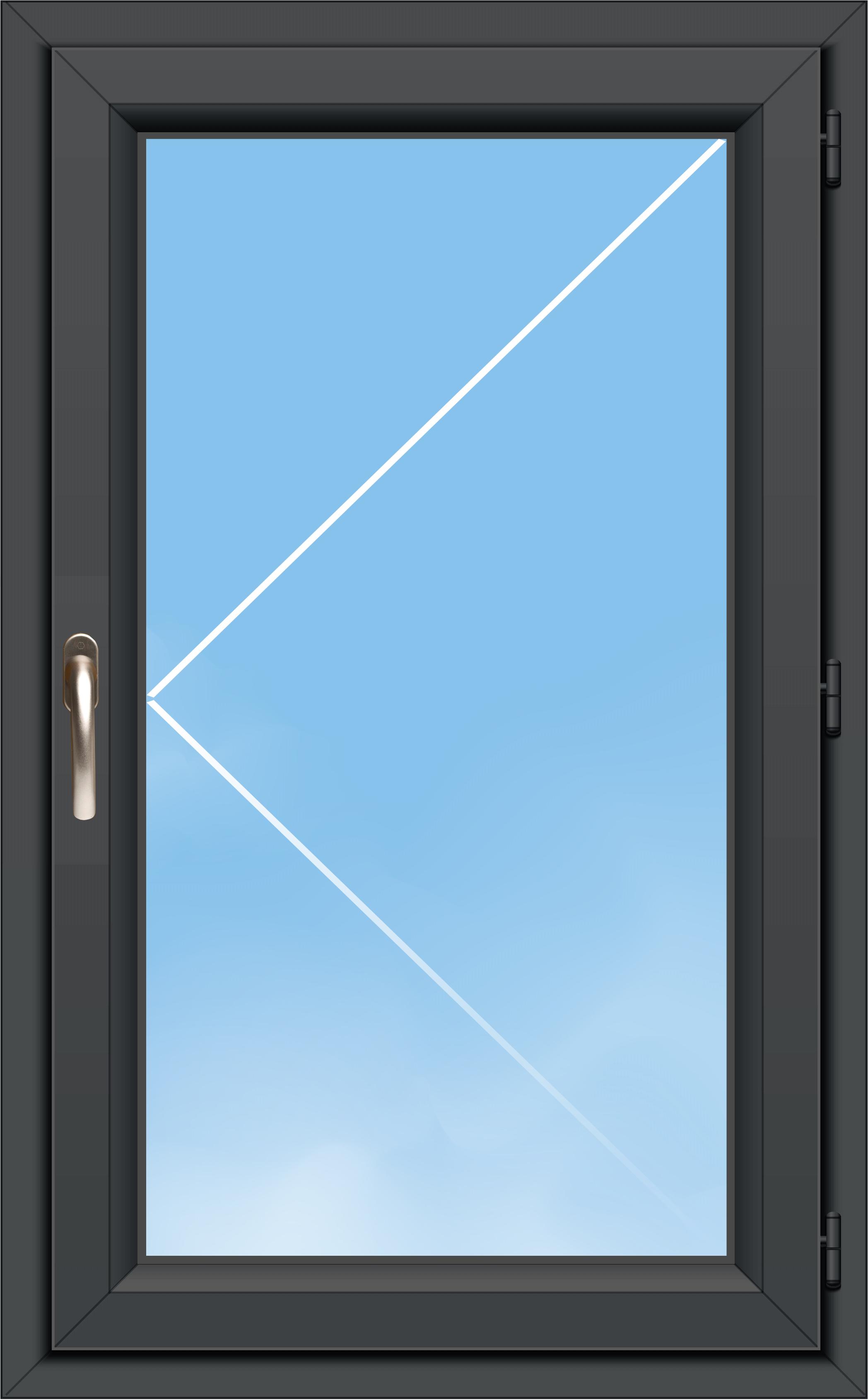 Fenêtre Pvc A70 élégance 1 Vantail