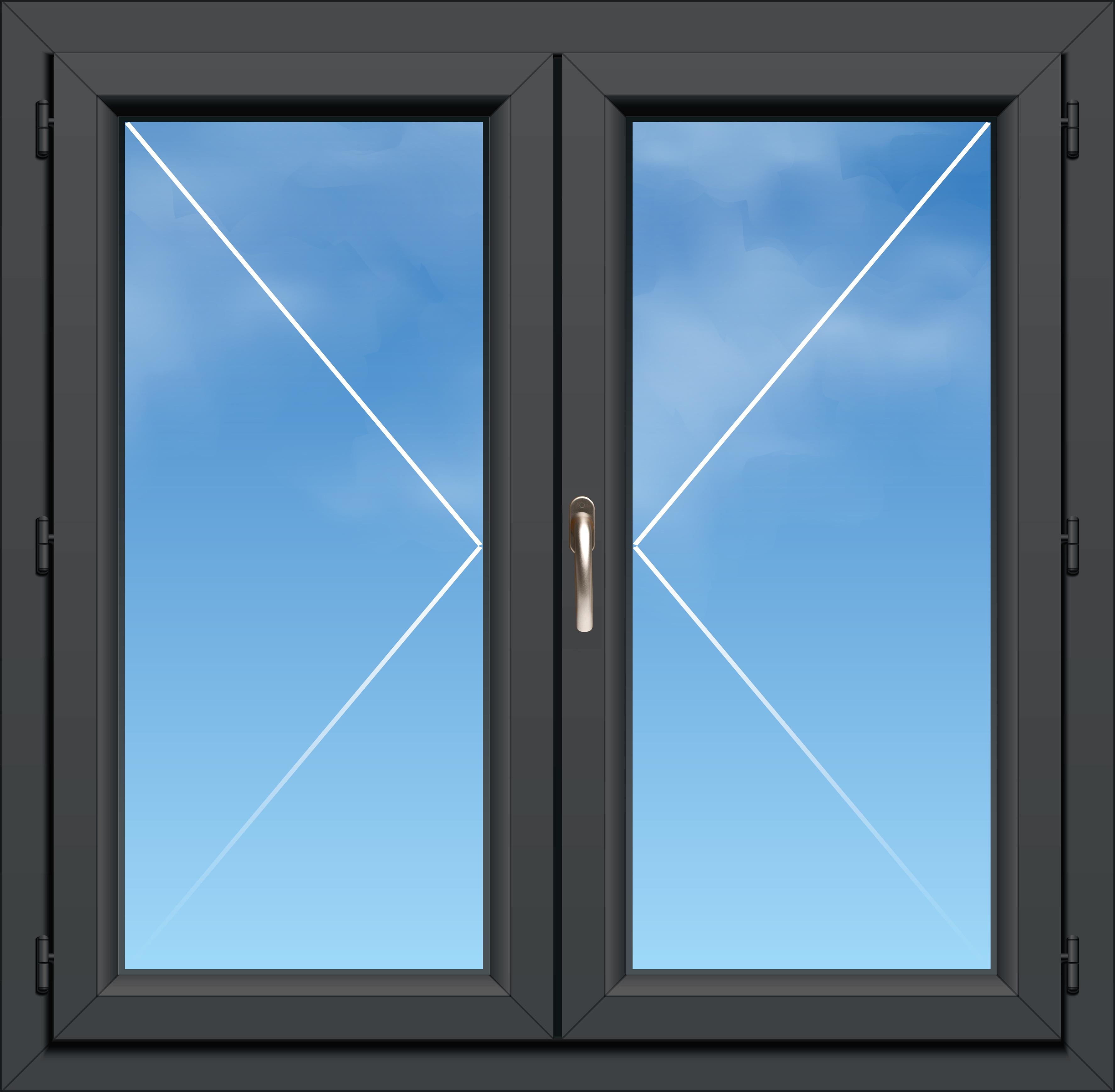 Fenêtre Pvc A70 élégance 2 Vantaux
