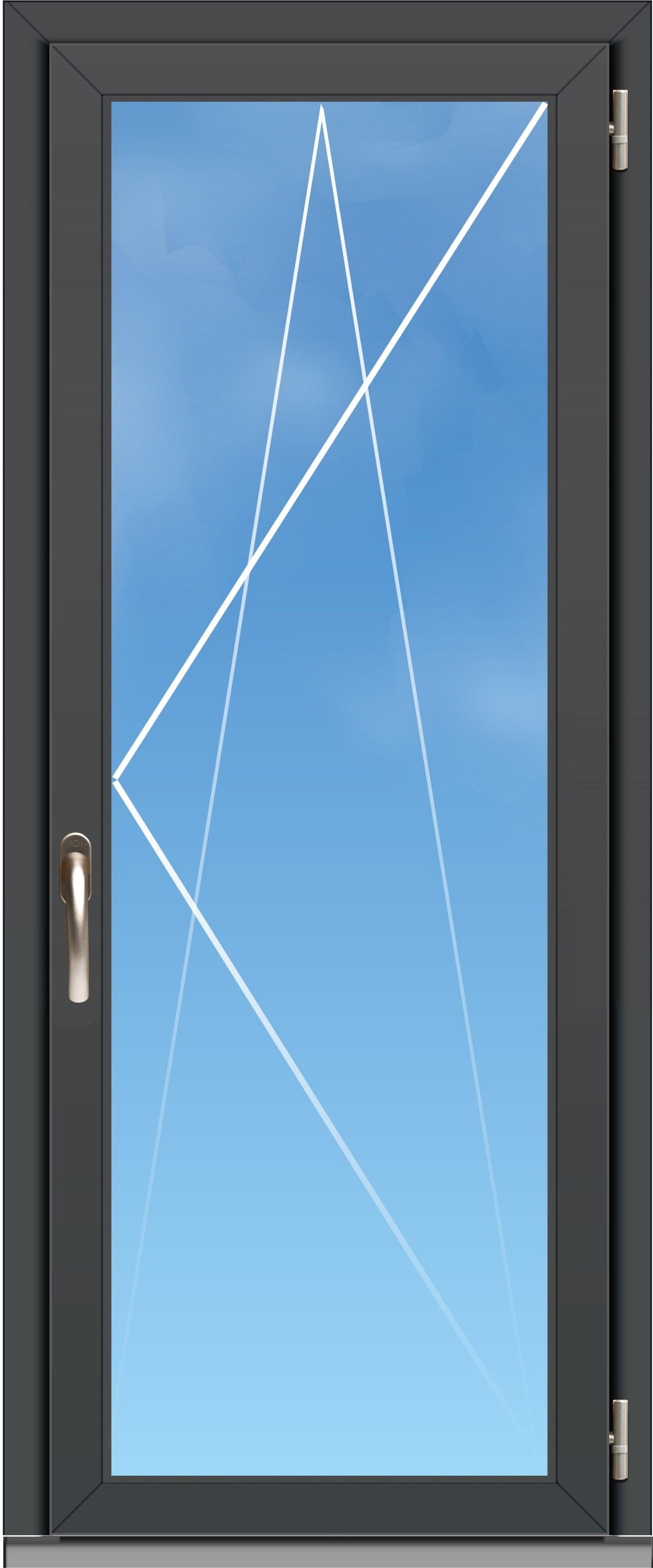 Porte Fenêtre Aluminium Oc70 Excellence 1 Vantail