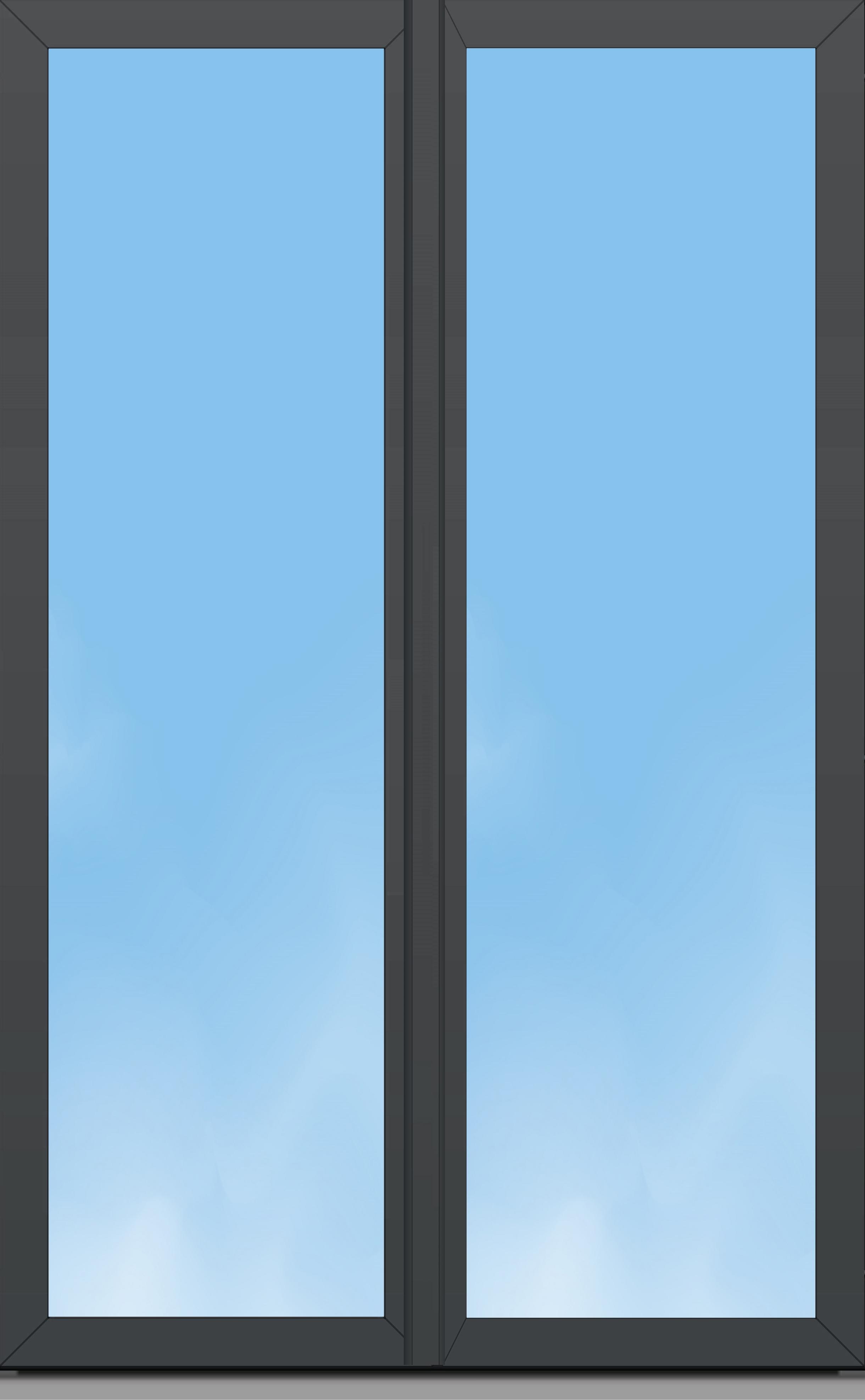 Porte Fenêtre Aluminium Oc70 Excellence 2 Vantaux