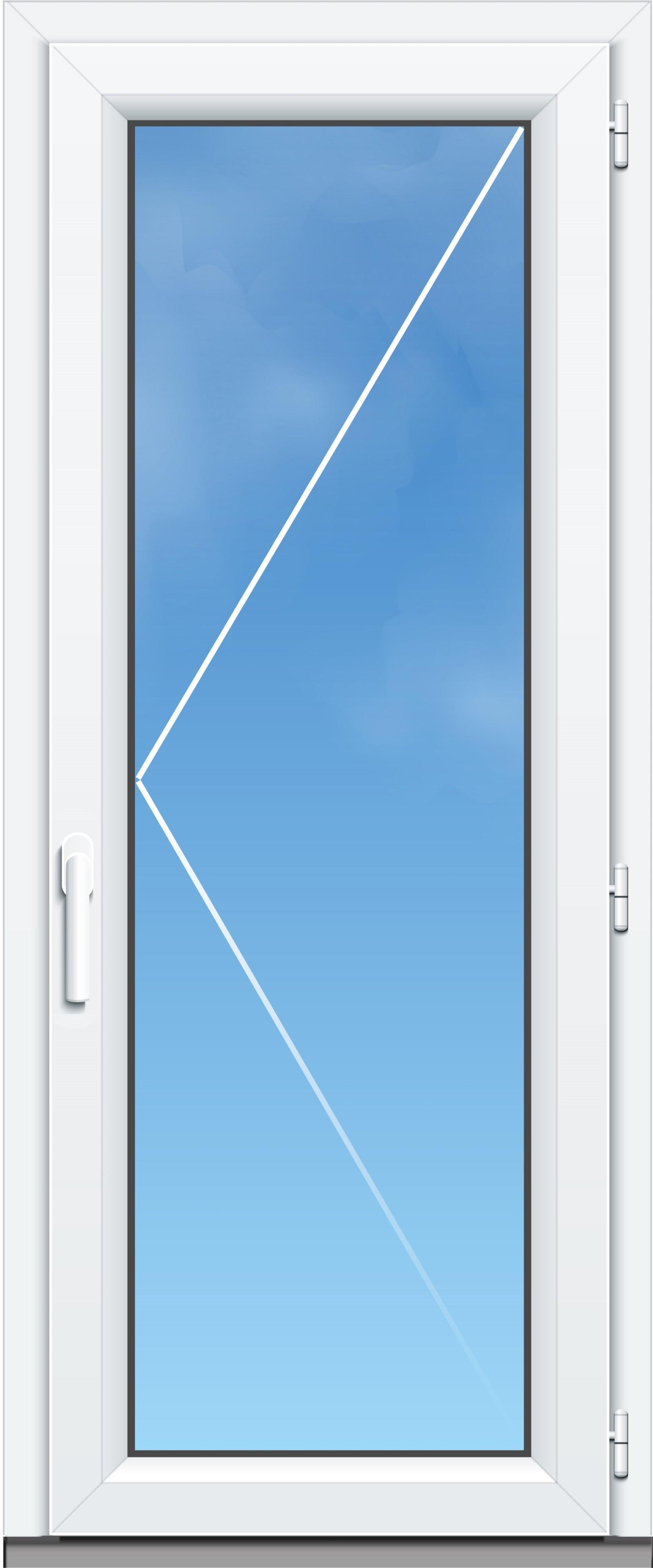 Porte Fenêtre Pvc A70 élégance 1 Vantail