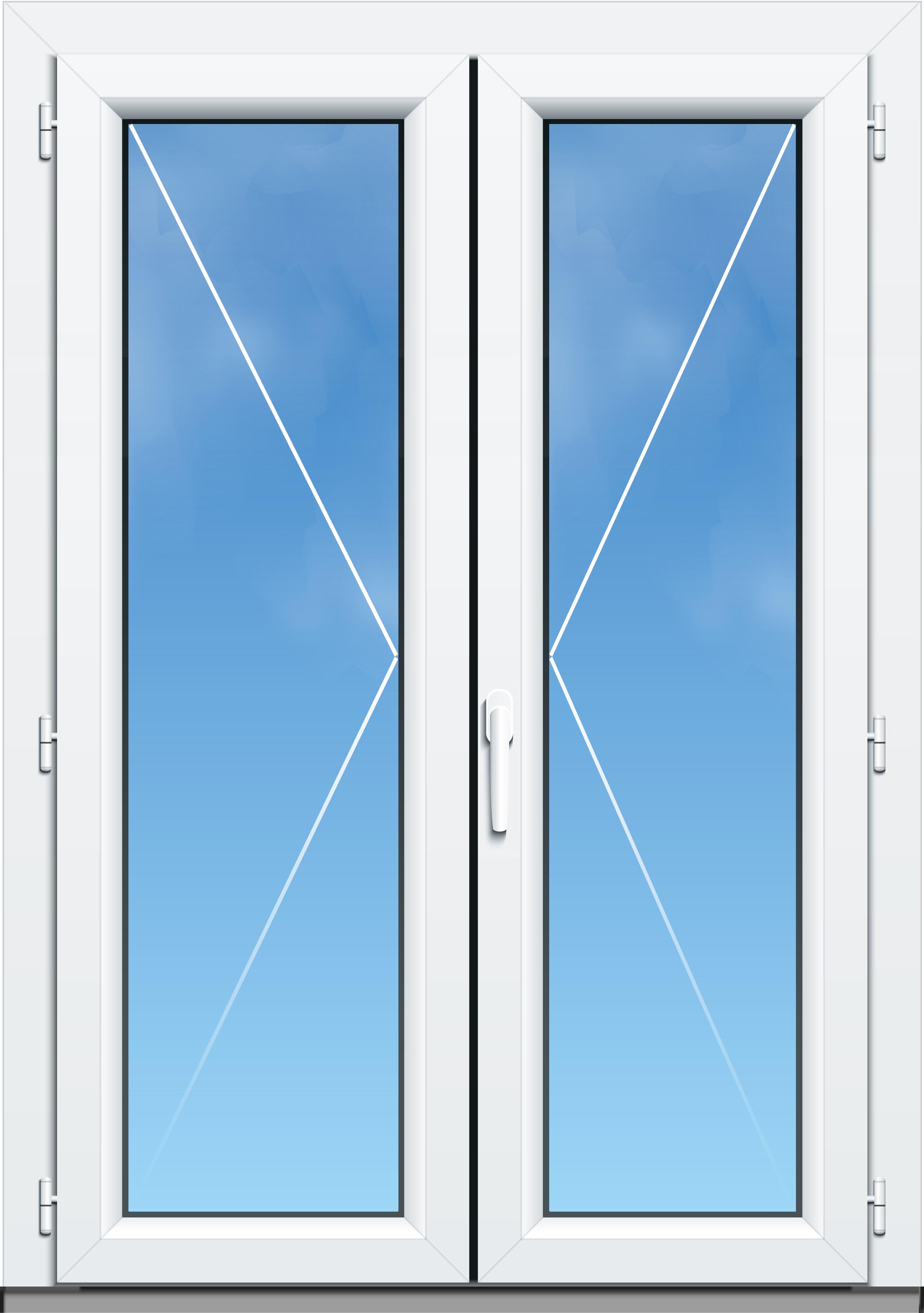 Porte Fenêtre Pvc A70 élégance 2 Vantaux