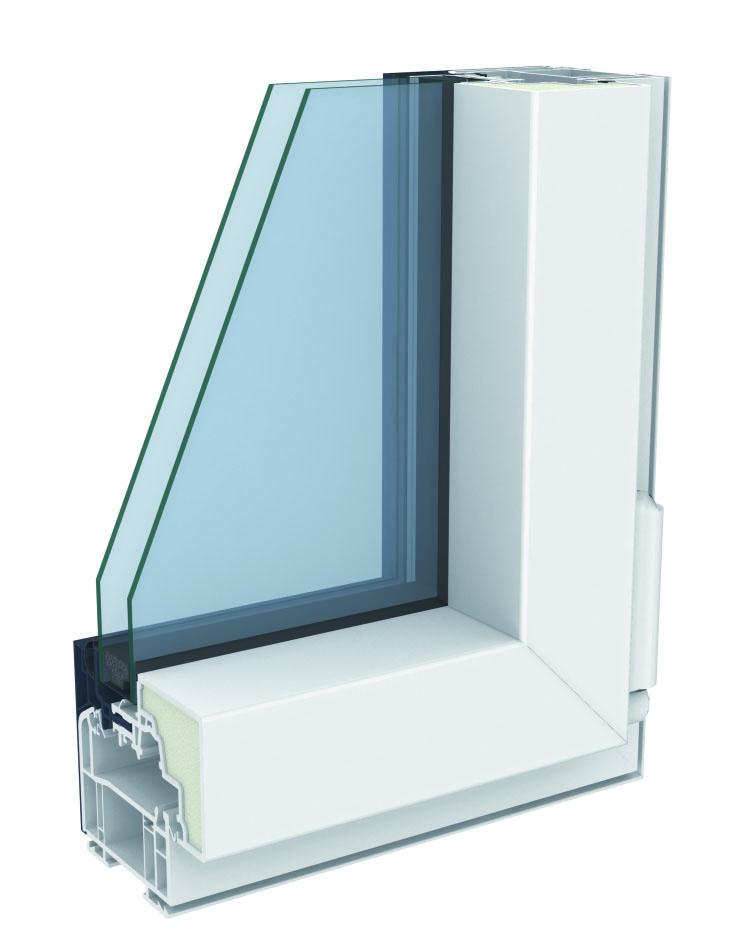 Porte Fenêtre Mixte Pvcaluminium Alya Excellence 2 Vantaux