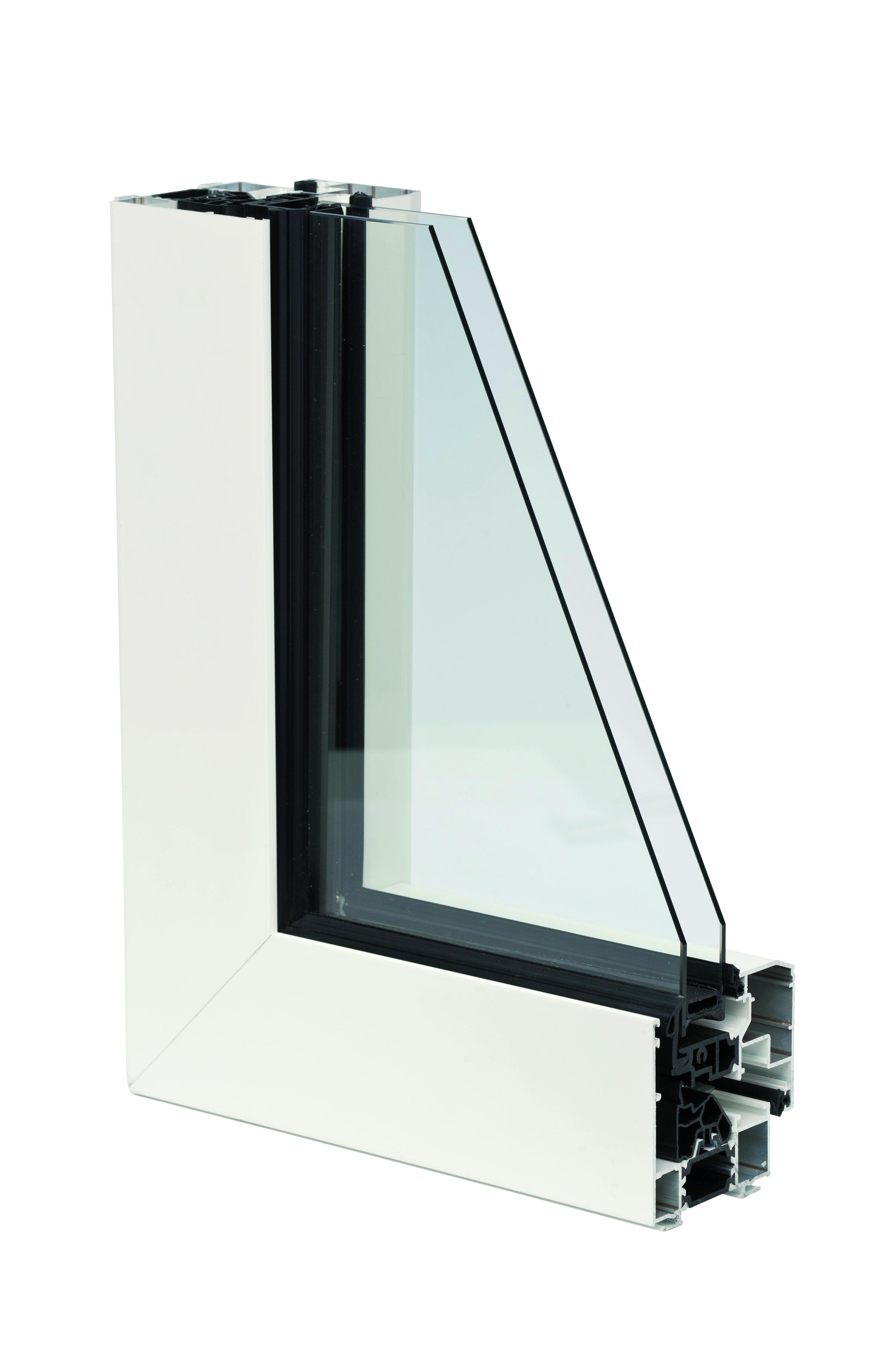 fen tre aluminium oc70 excellence fixe. Black Bedroom Furniture Sets. Home Design Ideas