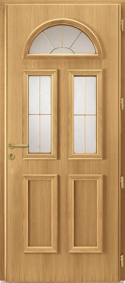 Porte d 39 entr e aluminium gasp sie - Porte d entree mixte alu bois ...