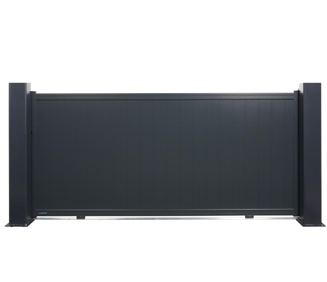 portail coulissant aluminium marselha. Black Bedroom Furniture Sets. Home Design Ideas