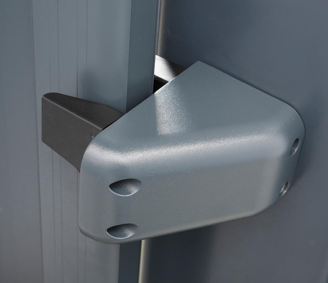 Portail coulissant aluminium marselha - Gache de reception portail coulissant ...