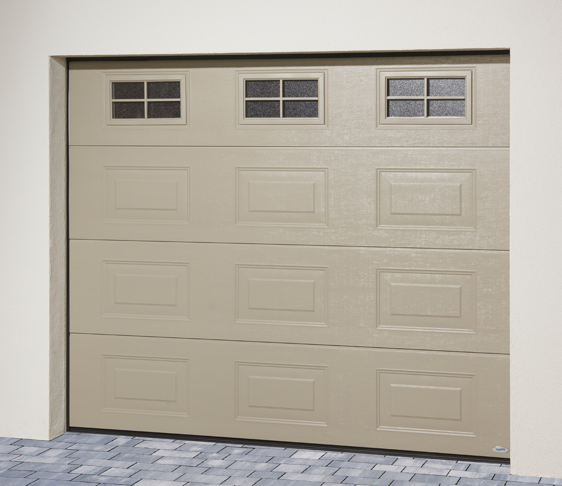porte de garage sectionnelle iso 45 panneau cassette. Black Bedroom Furniture Sets. Home Design Ideas